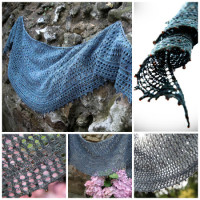 Triple Pebble Shawlette